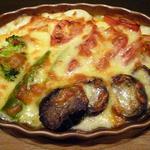 アンセム - 料理写真:トマト・揚げナスのグラタン