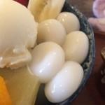 十紋字 - 光沢のある美しい白玉【料理】