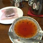 ティーガーデン - 料理写真:本日の紅茶 ピーチティ