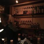 ウヰスキー酒場BAR STARMAN - カウンター
