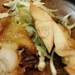 ○気 - ランチの小鉢(鶏肉)