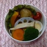 いたがき - 大好きな温野菜378円(税込)