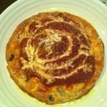 イル チェーロ - ミートソースのピザ、、、?