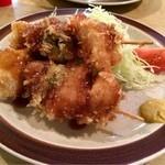 きし美 - 串かつ定食  500円