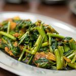 プルジャ ダイニング - 2016.6 豚肉と空芯菜のプデコ