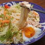 うどんダイニング DON - 夏季限定「冷しサラダうどん」¥880