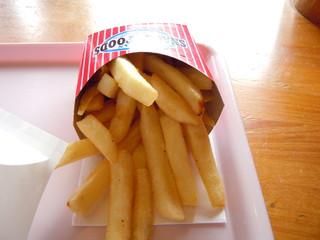 バーガーショップ あいかわ - ポテト:ドリンクとセットで260円