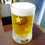 プルジャ ダイニング - 201606生ビール¥500