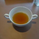 ドンピエール ハート - ランチスープ(まだ飲んでない)