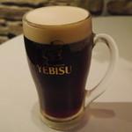 ビストロ波ノ上食堂 - YEBISU premium MIX