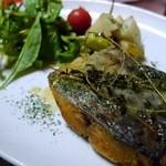 ビストロ波ノ上食堂 - 本日のお魚のムニエル