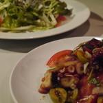 ビストロ波ノ上食堂 - タコのマリネ〜自家製バルサミコソース〜