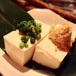 コトノハ・mog-mog食堂 - 島豆腐