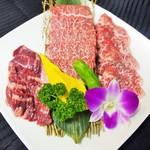 肉処 瑞祥 - 石垣島黒毛和牛を料理長がその日に合わせてご提供。是非食べて欲しい一品です。