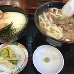 51775435 - 肉うどんセット                       (ミニとろろ丼)