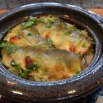 料理 吉祥寺 わるつ - 鮎の土鍋炊き御飯
