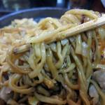 千徳 - 麺の焦げ目も良いアクセント