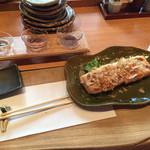 空創旬菜 雷神 - 板尾の油揚げ+日本酒月セット