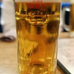 フィッシュ オン ディッシュ ロリー - 生ビール