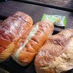 51778709 - ピーナツコッペ、野菜サンド、ハムたまごクロワッサン