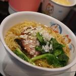 中国料理 龍鱗 - お子様ランチのラーメンには本格的なチャーシューが載ってる!