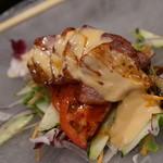 中国料理 龍鱗 - 超美味しいチャーシューサラダ【1850円ランチコース】