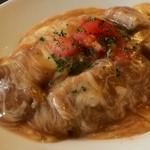 洋食 松キッチン - チーズ洋風カツ丼