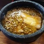 つけ麺丸和 - つけ汁です