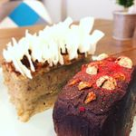 ヴィーガニック トゥー ゴー - グルテンフリー対応のケーキもご用意しています。