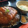 明日花 - 料理写真:おろしカツ丼定食780円