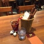 恵比壽ビヤホール - ランチドリンク+100円