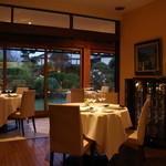 レストラン プランデルブ北鎌倉 - 和平と千明が食事したテーブル☆