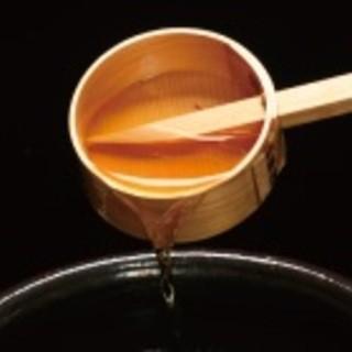 素材の味を『存分』に引き出す【秘伝の蜜床】