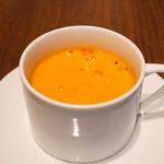 旬香亭 - トマトのポタージュ スープ