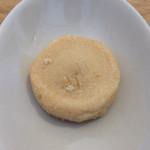 サレド コーヒー - ついてきたクッキーも美味しい。