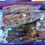 橋本食堂 - うなぎは、ご飯の中にも
