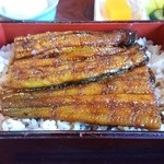 橋本食堂 - うな重 特上 3000円