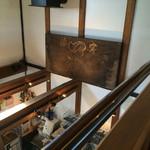 クラシックカフェ - 2階から見たところ