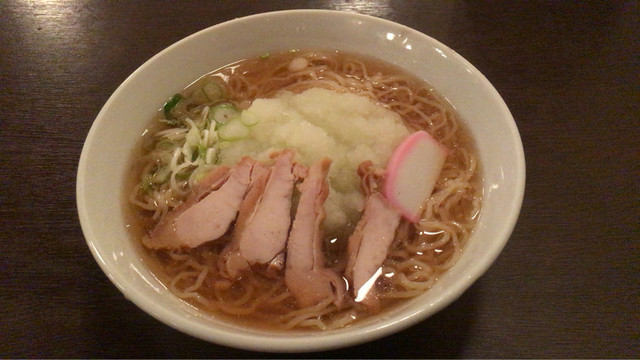 麺処 いばらき - おろし中華 ¥650