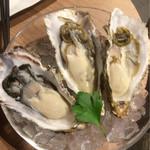 BISTROあっけし - 厚岸産の牡蠣