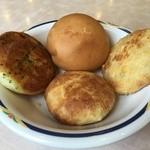 ステーキガスト - 健康サラダバーのパン