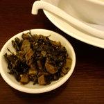 まるきんラーメン - 辛し高菜(トッピング)