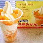 ミニストップ - 料理写真:ハロハロ冷凍みかん!
