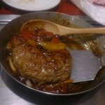 鉄板焼神戸Fuji - 煮込みハンバーグ