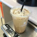 セブンイレブン - ドリンク写真:7カフェ アイスコーヒー L 180円