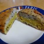 パン屋ドンチャバラ - ゴマドーナツ 60円(税別)。