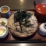 藤蔵屋 - 大ざる蕎麦¥940