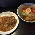 Diningtable  温 - 「冷麺&カレー(ハーフ)」1,000円