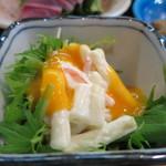 魚料理 いさり火 - マカロニサラダアップ