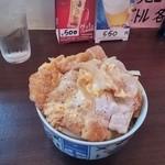 居酒屋 久さん - 料理写真:かつ丼を頂けました。